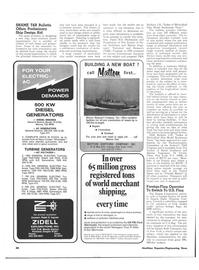 Maritime Reporter Magazine, page 44,  Dec 15, 1973