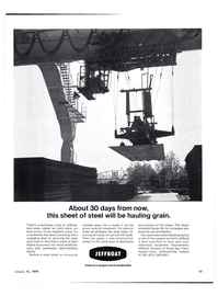 Maritime Reporter Magazine, page 13,  Jan 15, 1974 steel plate
