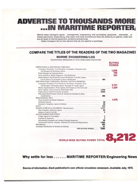 Maritime Reporter Magazine, page 18,  Jan 15, 1974 Port Stewards Deck Captains