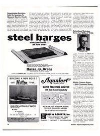Maritime Reporter Magazine, page 20,  Jan 15, 1974
