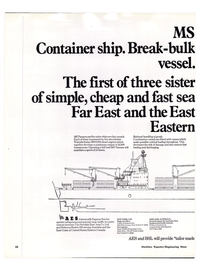 Maritime Reporter Magazine, page 30,  Jan 15, 1974 Far East
