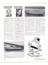 Maritime Reporter Magazine, page 32,  Jan 15, 1974