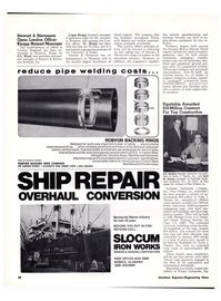Maritime Reporter Magazine, page 36,  Jan 15, 1974 Cecil M. Keeney