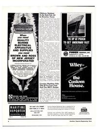 Maritime Reporter Magazine, page 2,  Jan 15, 1974 New Jersey