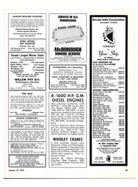 Maritime Reporter Magazine, page 41,  Jan 15, 1974 Oregon