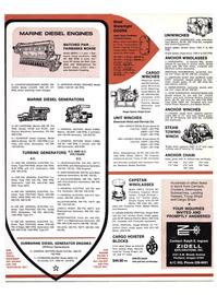Maritime Reporter Magazine, page 43,  Jan 15, 1974