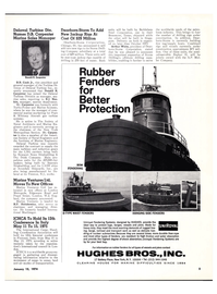 Maritime Reporter Magazine, page 3,  Jan 15, 1974 Dearborn-Storm To Add