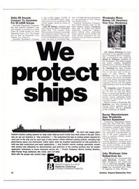 Maritime Reporter Magazine, page 9,  Feb 1974