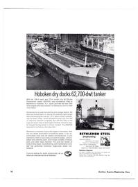 Maritime Reporter Magazine, page 13,  Feb 1974