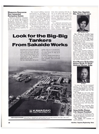 Maritime Reporter Magazine, page 25,  Feb 1974
