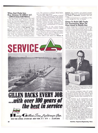 Maritime Reporter Magazine, page 27,  Feb 1974