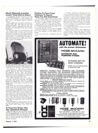 Maritime Reporter Magazine, page 28,  Feb 1974