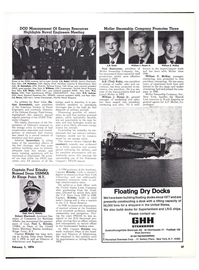 Maritime Reporter Magazine, page 34,  Feb 1974 William J. Poul Rasmussen