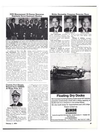 Maritime Reporter Magazine, page 34,  Feb 1974