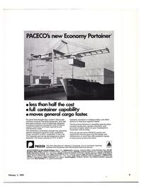 Maritime Reporter Magazine, page 3,  Feb 1974