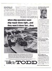 Maritime Reporter Magazine, page 7,  Feb 1974
