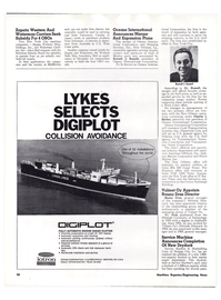 Maritime Reporter Magazine, page 8,  Feb 15, 1974 Gulf of Mexico