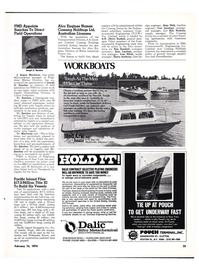 Maritime Reporter Magazine, page 22,  Feb 15, 1974 Contract Engineering Service