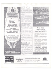 Maritime Reporter Magazine, page 2,  Feb 15, 1974 Mississippi