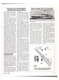 Maritime Reporter Magazine, page 13,  Mar 1974