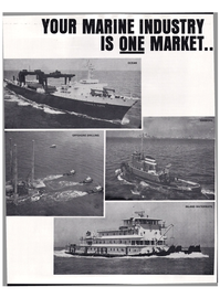 Maritime Reporter Magazine, page 16,  Mar 1974