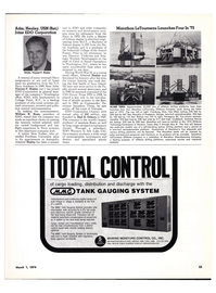 Maritime Reporter Magazine, page 19,  Mar 1974 Mississippi