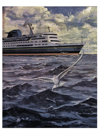 Maritime Reporter Magazine, page 21,  Mar 1974