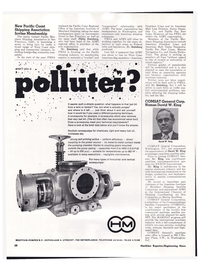 Maritime Reporter Magazine, page 24,  Mar 1974