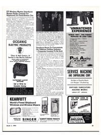 Maritime Reporter Magazine, page 31,  Mar 1974 A.C. Brown