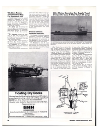 Maritime Reporter Magazine, page 34,  Mar 1974