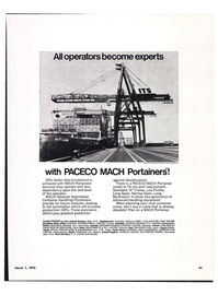 Maritime Reporter Magazine, page 37,  Mar 1974