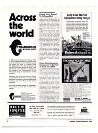 Maritime Reporter Magazine, page 2,  Mar 1974