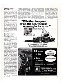 Maritime Reporter Magazine, page 41,  Mar 1974 Missouri