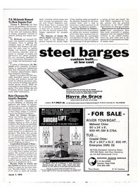 Maritime Reporter Magazine, page 45,  Mar 1974 Bruno R. W. Haskew