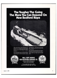 Maritime Reporter Magazine, page 5,  Mar 1974 Levy Boat Service Inc.