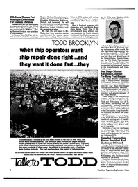 Maritime Reporter Magazine, page 6,  Mar 1974 east coast