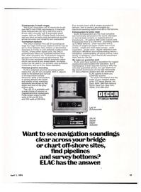 Maritime Reporter Magazine, page 11,  Apr 1974 ITT Decca Marine Inc.