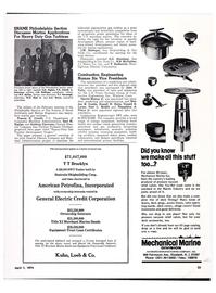 Maritime Reporter Magazine, page 21,  Apr 1974