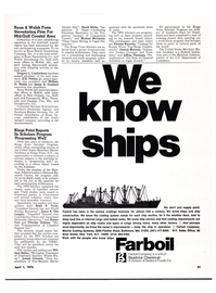 Maritime Reporter Magazine, page 28,  Apr 1974