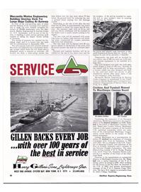 Maritime Reporter Magazine, page 29,  Apr 1974