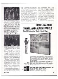 Maritime Reporter Magazine, page 30,  Apr 1974 Louis V. Minett