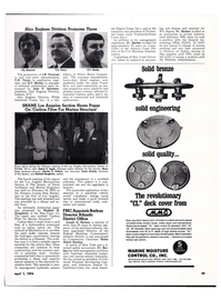 Maritime Reporter Magazine, page 36,  Apr 1974