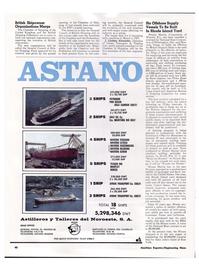 Maritime Reporter Magazine, page 37,  Apr 1974 Delaware