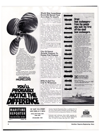 Maritime Reporter Magazine, page 2,  Apr 1974