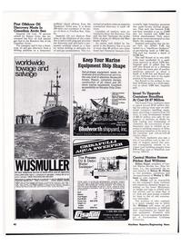 Maritime Reporter Magazine, page 39,  Apr 1974 Montana