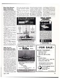 Maritime Reporter Magazine, page 44,  Apr 1974
