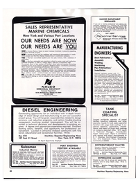 Maritime Reporter Magazine, page 45,  Apr 1974 parcel tankers handling chemicals