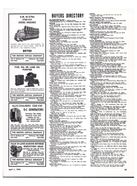 Maritime Reporter Magazine, page 50,  Apr 1974