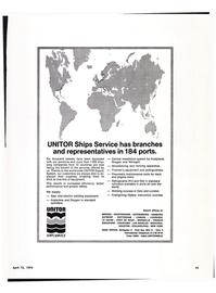 Maritime Reporter Magazine, page 17,  Apr 15, 1974
