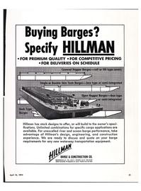 Maritime Reporter Magazine, page 19,  Apr 15, 1974